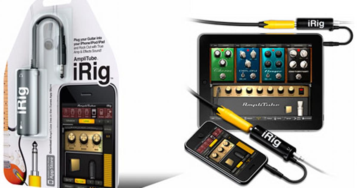 ik multimedia ships amplitube irig iphone interface adapter. Black Bedroom Furniture Sets. Home Design Ideas
