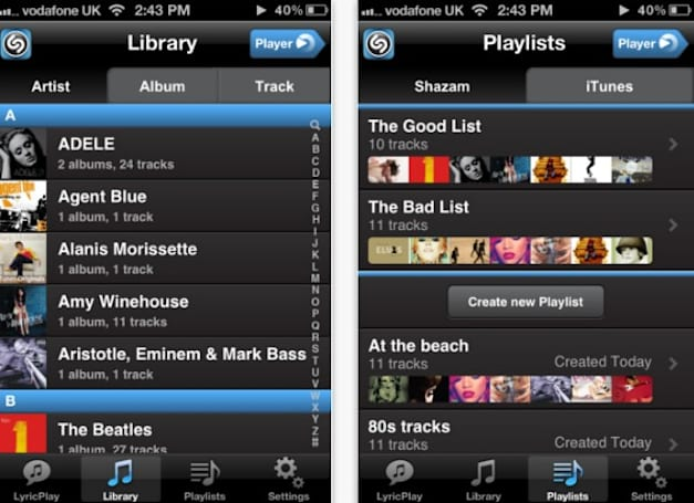 Shazam launches new Player app, lets you get to know your jams better