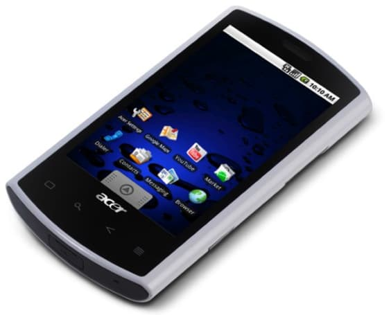Acer Liquid A1 starts shipping its Android wares in the UK