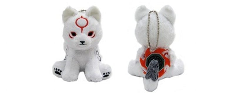 Free Chibi keychain with Okamiden pre-order from Capcom store