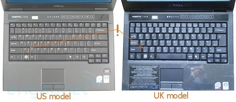 Dell to replace all European Vostro 1310 and 1510 keyboards