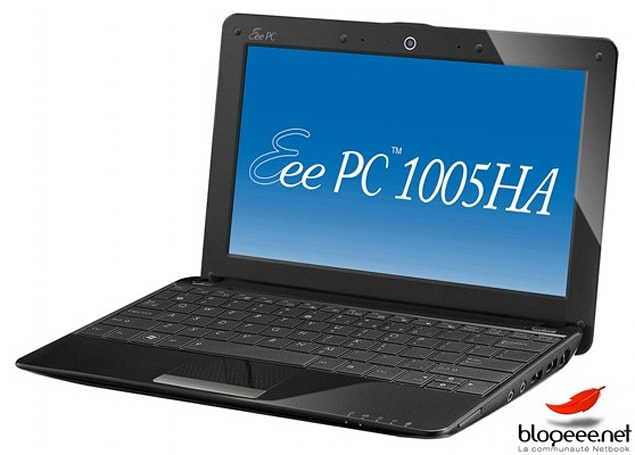 ASUS Eee PC 1005HA-M and 1005HA-H steal Seashell's sublimity