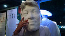 A Halloween party where the costumes are 3D-printed (and a little hot)