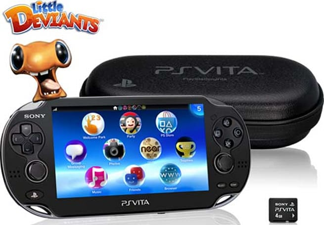 PlayStation Vita First Edition Bundle: be an earlier adopter on Feb. 15