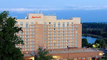Gaithersburg Marriott Washingtonian Center: now with HDTVs in every room