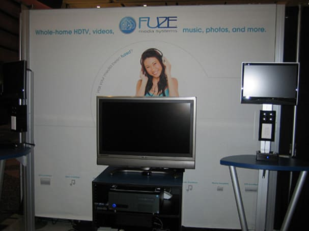 FUZE Media Systems' CEDIA booth tour