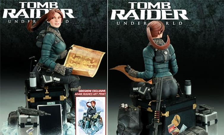 Lara Croft statue is worth every penny