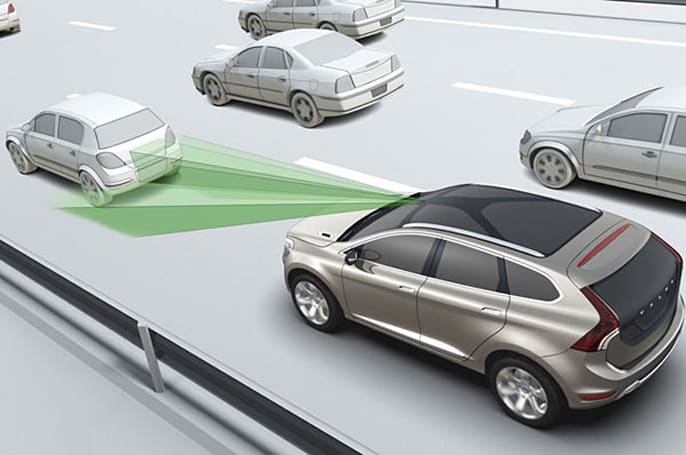 New EU legislation requires cars to include autonomous braking system
