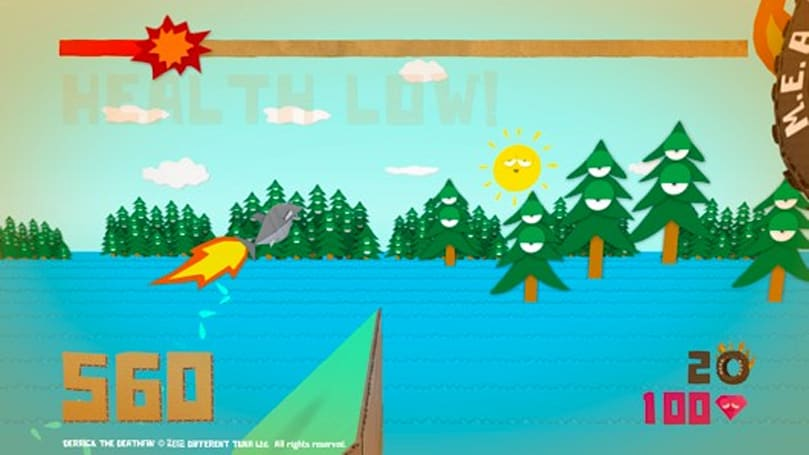 Derrick the Deathfin jumps into PC pool, PS3 version on sale