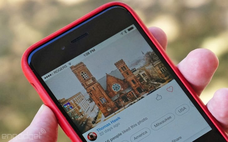 500px's redesigned iOS app is an Instagram for pros