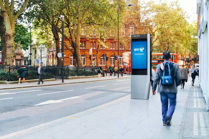 New York's free gigabit WiFi kiosks are coming to the UK