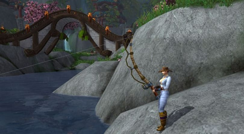 Achieve realm-first Zen Master Angler with your pal El