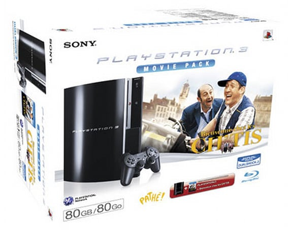 Two new European 80GB PS3 bundles