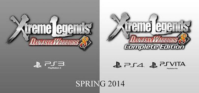 Dynasty Warriors 8 Xtreme Legends Complete Edition coming to EU, US in Spring 2014