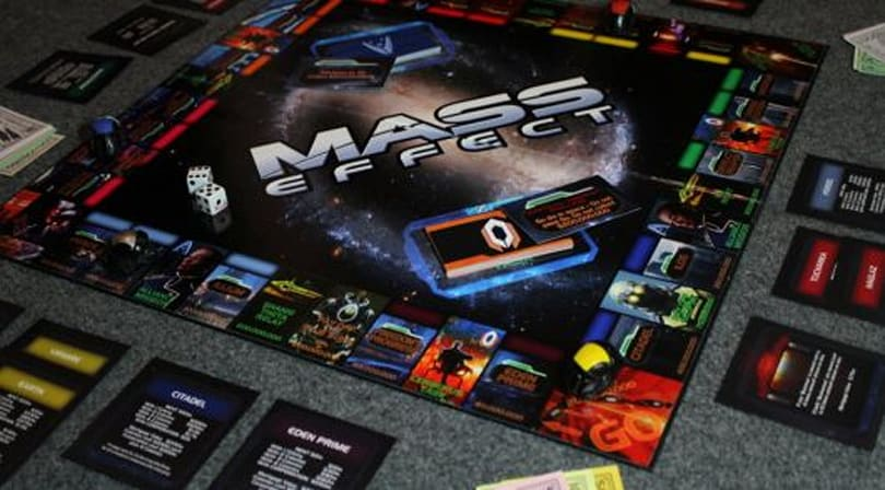 Pass Go, collect 20m credits in Mass Effect Monopoly