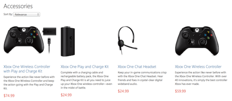 Xbox One Wireless Controller, Play and Charge Kit and Chat Headset available for pre-order