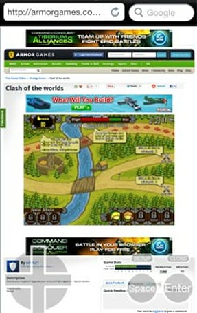Puffin browser gets faster Flash support, virtual gamepad