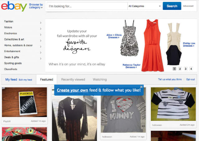 eBay unveils redesign, deals site and launches same-day delivery