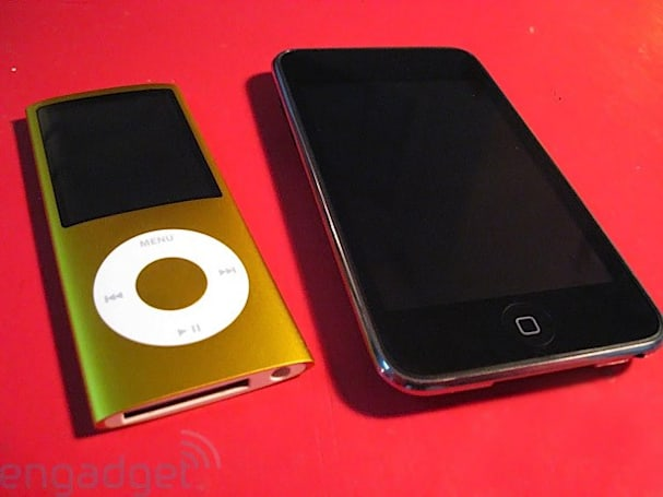 Apple iPod touch 2G and nano 4G: The Engadget Review