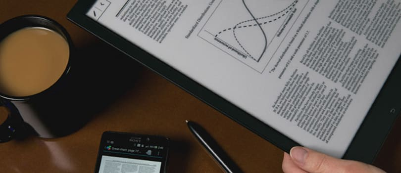 Sony's found the perfect use for its $1,100 Digital Paper: HR forms