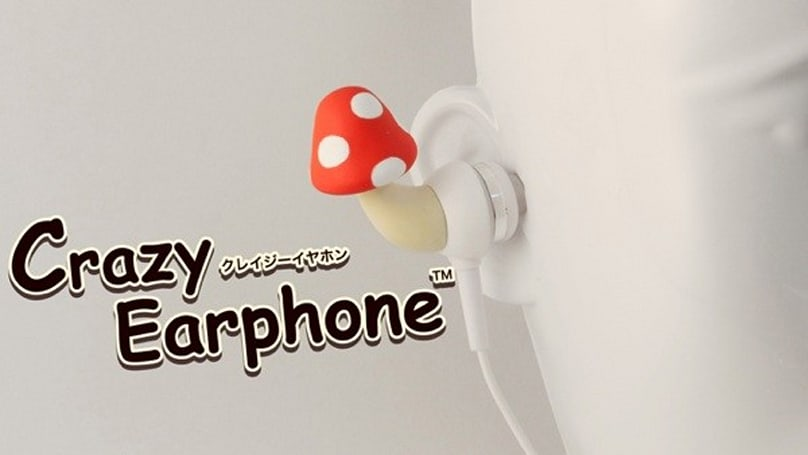 SolidAlliance's Crazy Earphones v2: because ear fungus sells