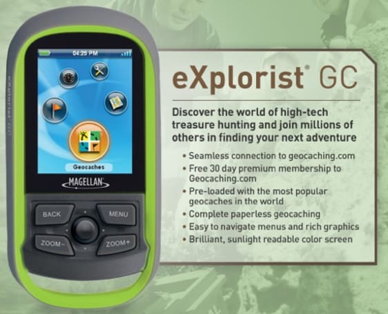 Magellan's new eXplorist GC for geocachers is far too easy to find