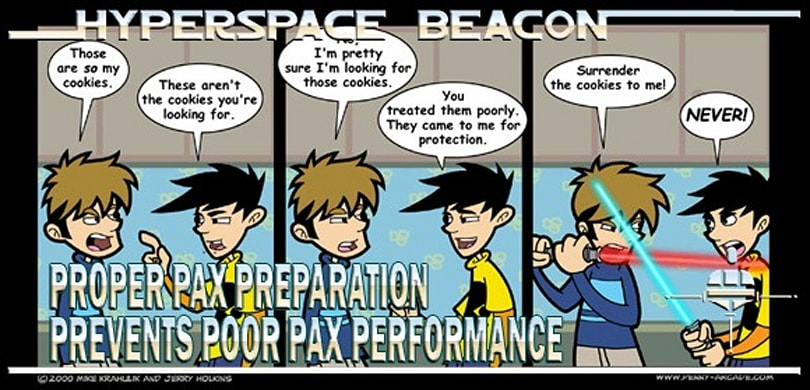 Hyperspace Beacon: Proper PAX preparation prevents poor PAX performance