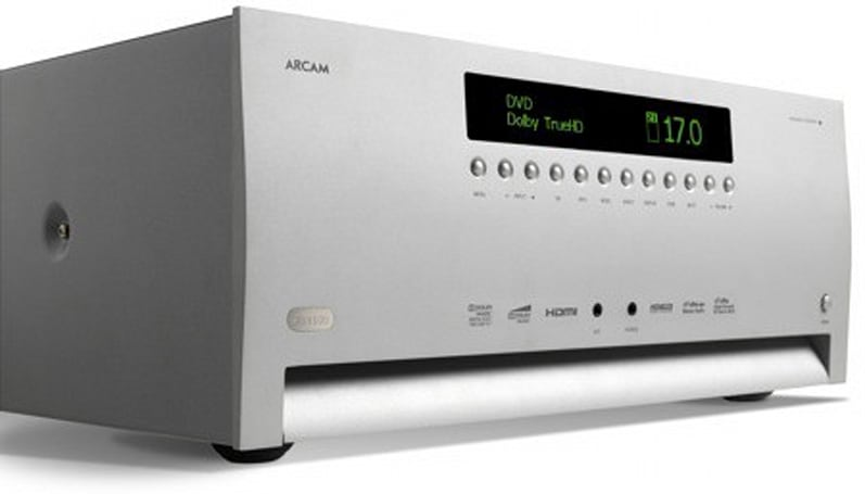Arcam gets really official with beastly FMJ AVR600 AV receiver