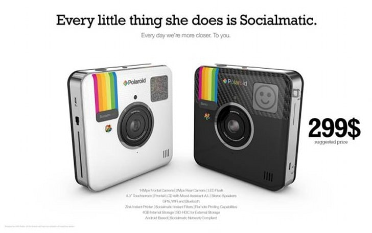 Socialmatic camera priced at $300, channels Sting for marketing tagline