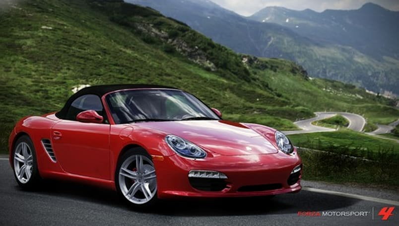 Porsche makes its Forza 4 debut in May