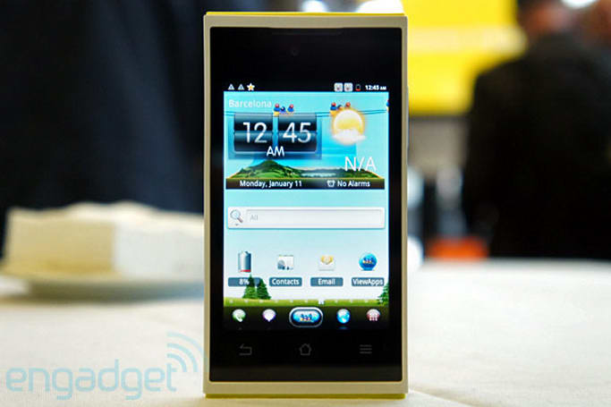 ViewSonic ViewPhone 4s hands-on (video)