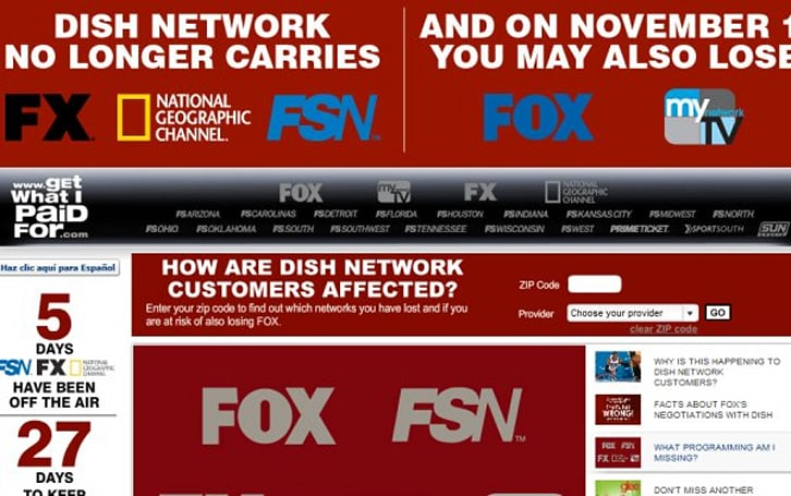 Fox, Dish Network deal means no network TV blackout, FX & sports networks back on