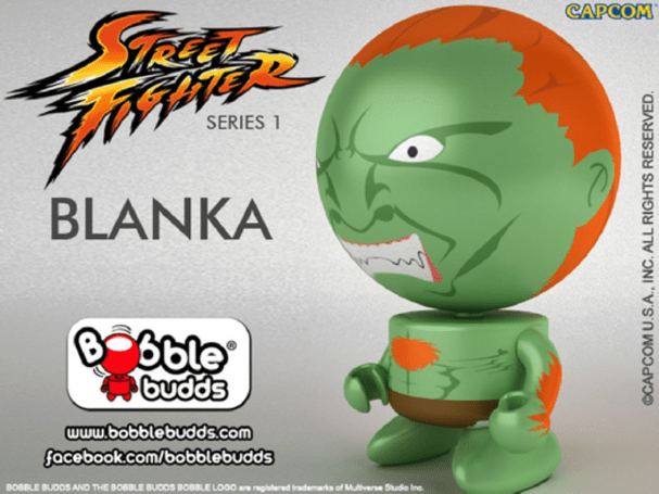 New Street Fighter Bobble Budds are pretty serious