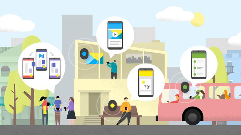 Google's Eddystone serves up location-based info via Bluetooth beacons