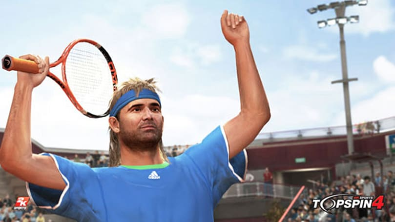 Top Spin 4 announced, with vintage Agassi pre-order bonus