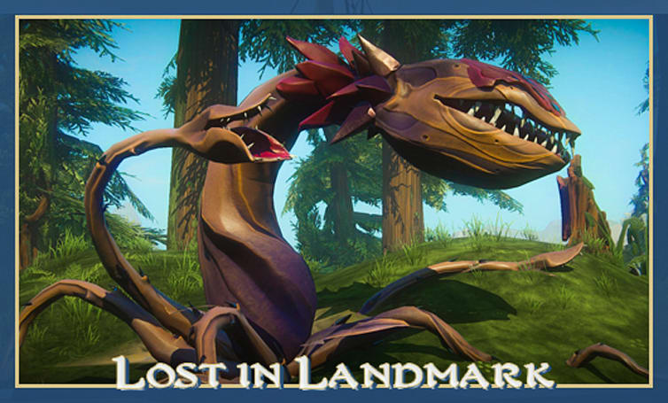 The Stream Team:  Slaugs and wisps and chompers, oh Landmark!