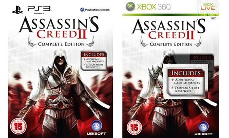 Assassin's Creed 2 'Complete Edition' spotted at UK retailers