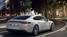 2018 Porsche Panamera Turbo S E-Hybrid pumps out 680 horsepower