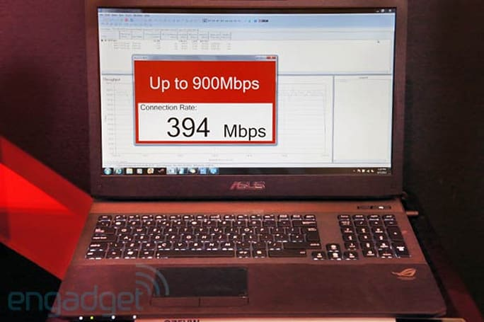 ASUS G75VW is world's first notebook to sport Broadcom 802.11ac WiFi, we go hands-on (video)