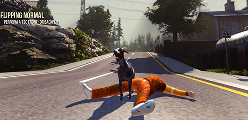 Deep Silver unleashes Goat Simulator in NA stores this July