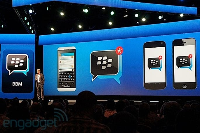 BlackBerry to offer BBM as standalone app for iOS and Android this summer