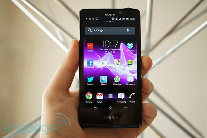 Sony Xperia T review: a new 4.6-inch smartphone flagship that isn't quite new enough