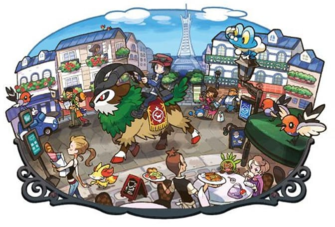 Report: Pokemon X/Y glitch affecting Lumiose City saves