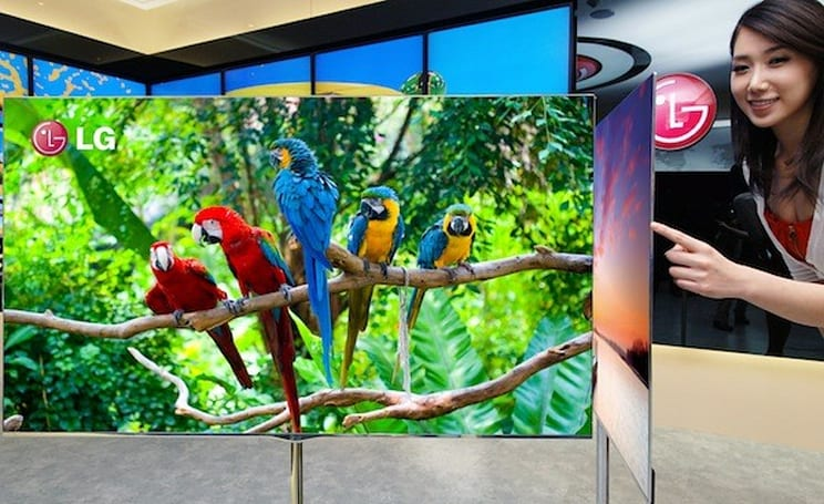 LG details 55-inch OLED TV, will show off its true colors at CES 2012