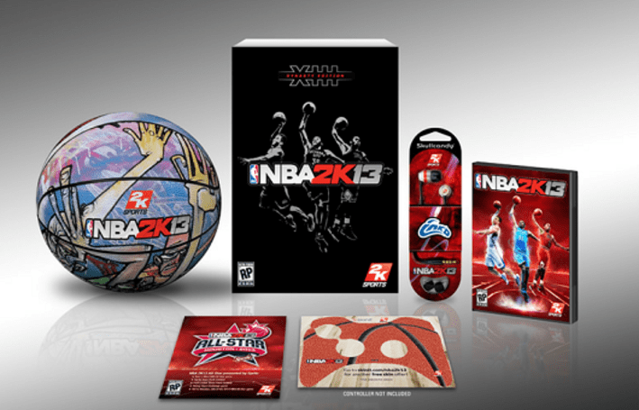 Get a damn basketball with your fancy copy of NBA 2K13