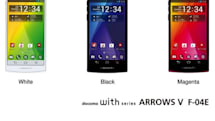 Fujitsu's Arrows V F-04E launches with 4.7-inch display, fingerprint scanner, lust for ramen