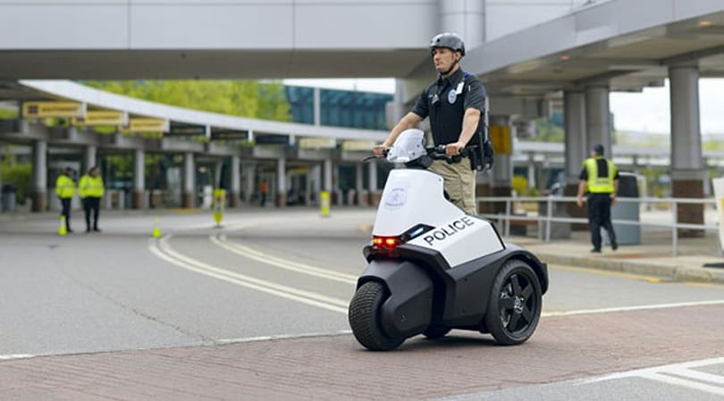 New Segway Patroller gives mall cops a third wheel