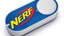 Amazon's new Dash buttons restock Nerf, Play-Doh and more