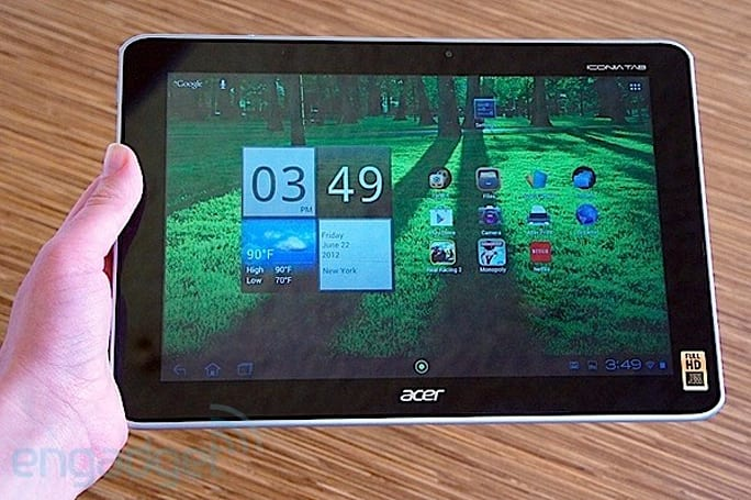 How would you change Acer's Iconia Tab A700?
