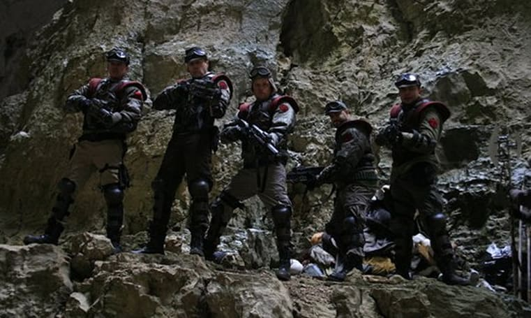 Red Faction production stills look very, very surly